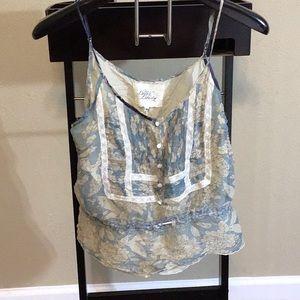JW 4 Love & Liberty Silk Camisole
